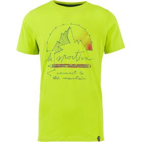 La Sportiva Connect - T-shirt manches courtes Homme - vert